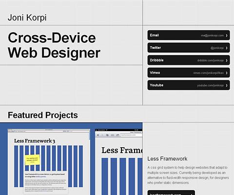PC Webデザイン Joni Korpi
