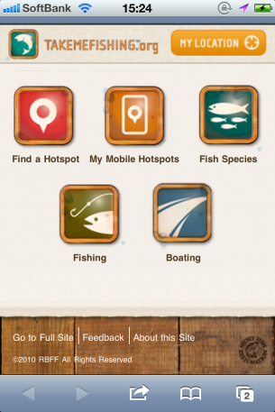 URL:http://www.takemefishing.org/mobile/