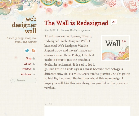 PC Webデザイン Web Designer Wall