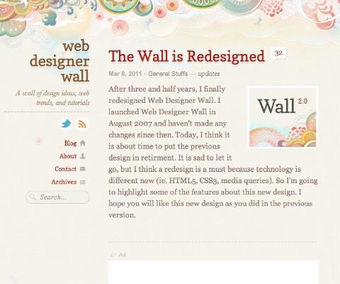 PC Webデザイン Web Designer Wall