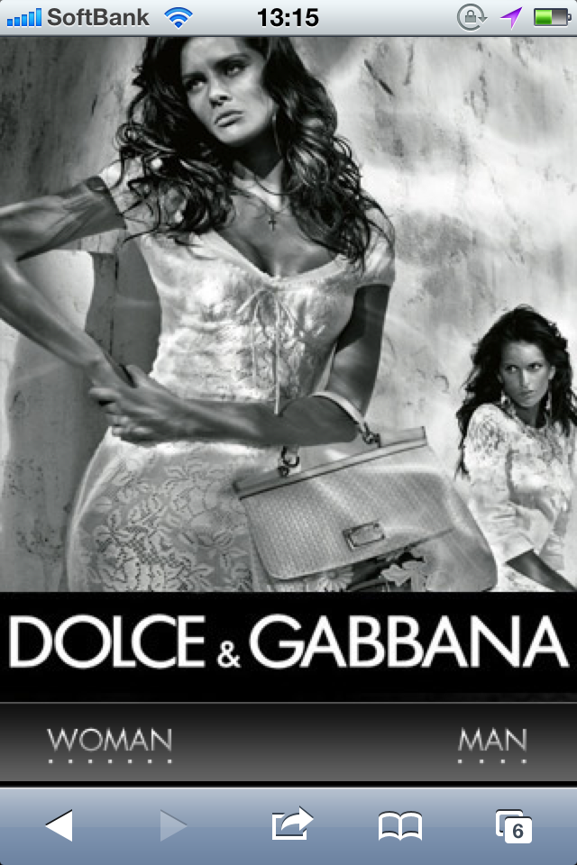 Dolce&Gabbana(D&G) Official Site
