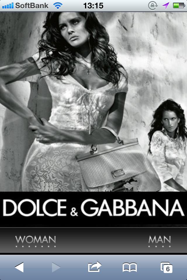 Dolce&Gabbana(D&G) Official Site