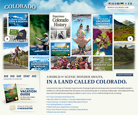 PC Webデザイン Colorado
