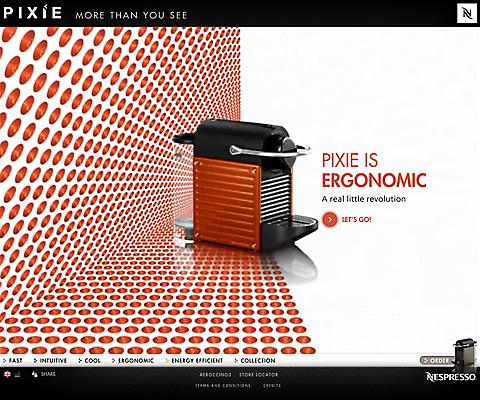 PC Webデザイン PIXIE