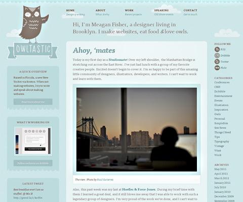 PC Webデザイン Owltastic