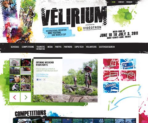 PC Webデザイン Vélirium 2011
