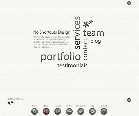 PC Webデザイン No Shortcuts Design