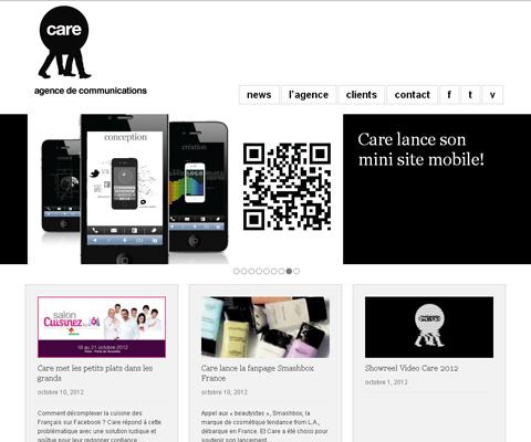 PC Webデザイン Care