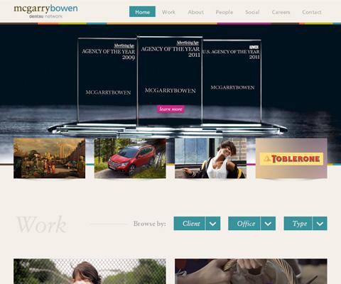 PC Webデザイン mcgarrybowen