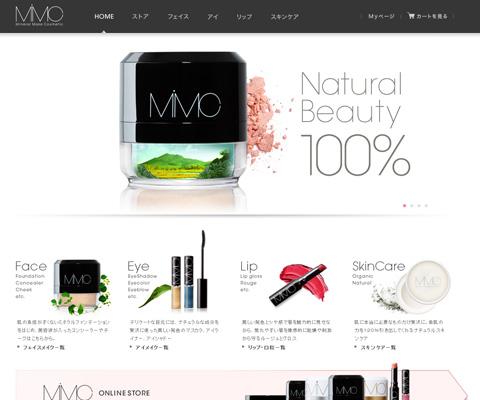 PC Webデザイン ミネラルファンデーション・ミネラルコスメ  | MiMC エムアイエムシー