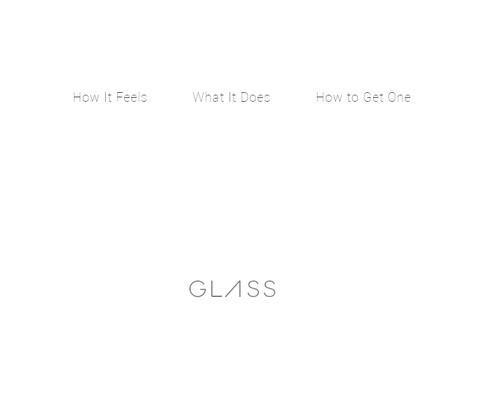 PC Webデザイン Google Glass