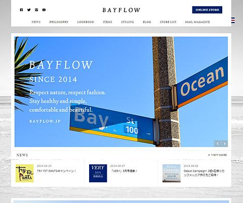PC Webデザイン BAYFLOW [ベイフロー] 公式サイト