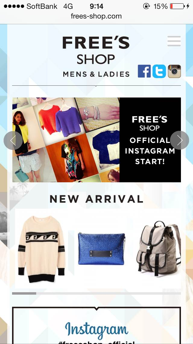FREES_SHOP | MENS & LADIES
