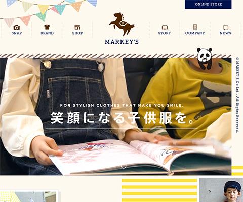 PC Webデザイン 株式会社マーキーズ|MARKEY'S