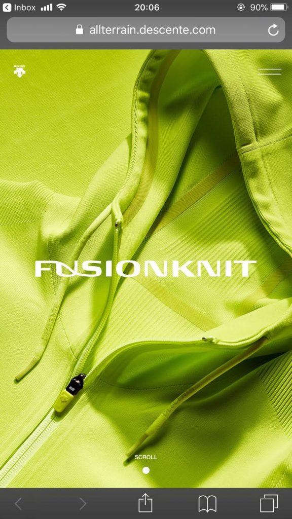 デサント フュージョンニット公式サイト|DESCENTE FUSIONKNIT OFFICIAL SITEのサイト