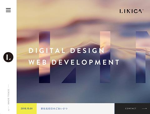 PC Webデザイン 株式会社LINICA