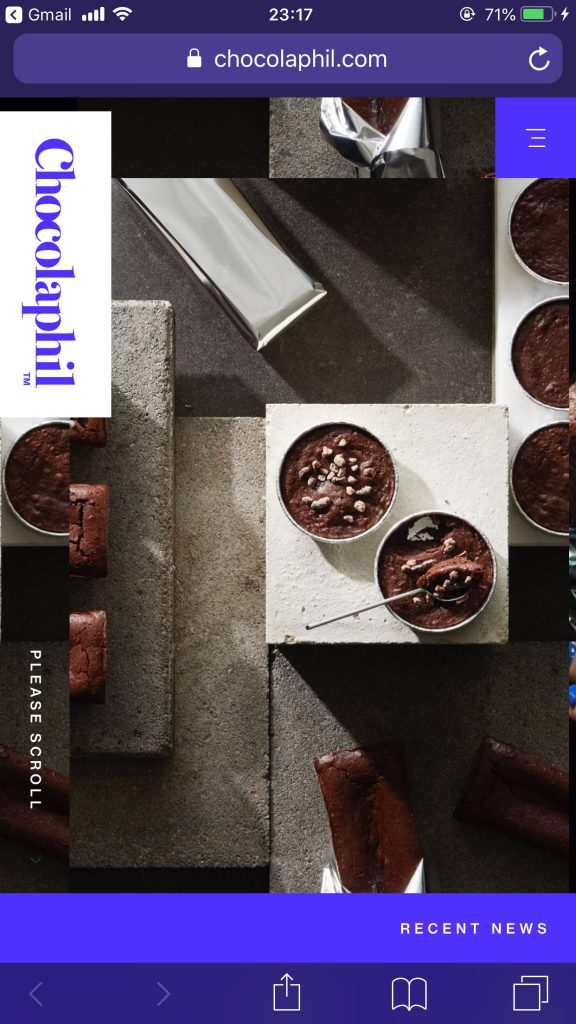 Chocolaphil | ガトーショコラ専門店のサイト