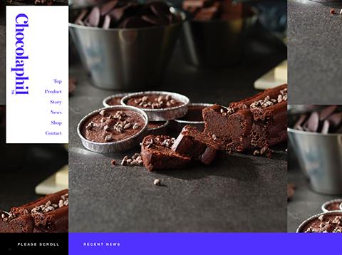 PCデザイン Chocolaphil | ガトーショコラ専門店