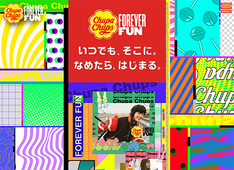 PCデザイン FOREVER FUN | Chupa Chups