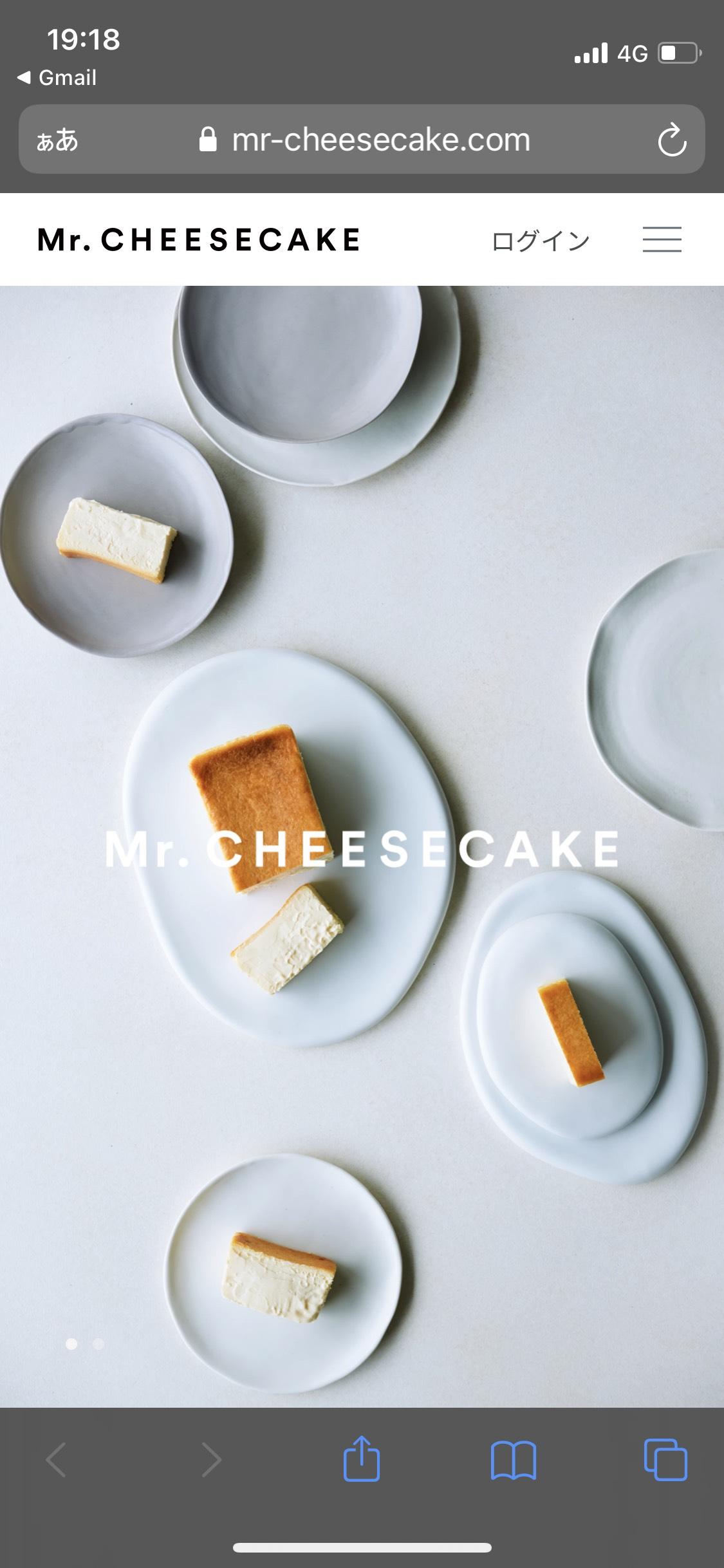 Mr. CHEESECAKE | ミスターチーズケーキ