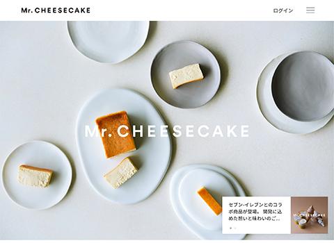 PCデザイン Mr. CHEESECAKE | ミスターチーズケーキ